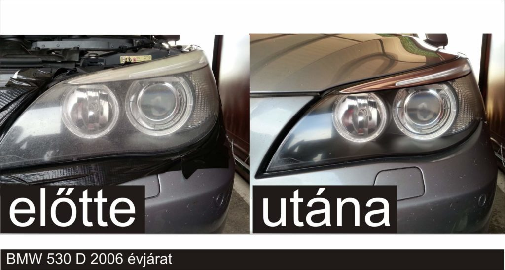 Autó lámpa polírozás házilag
