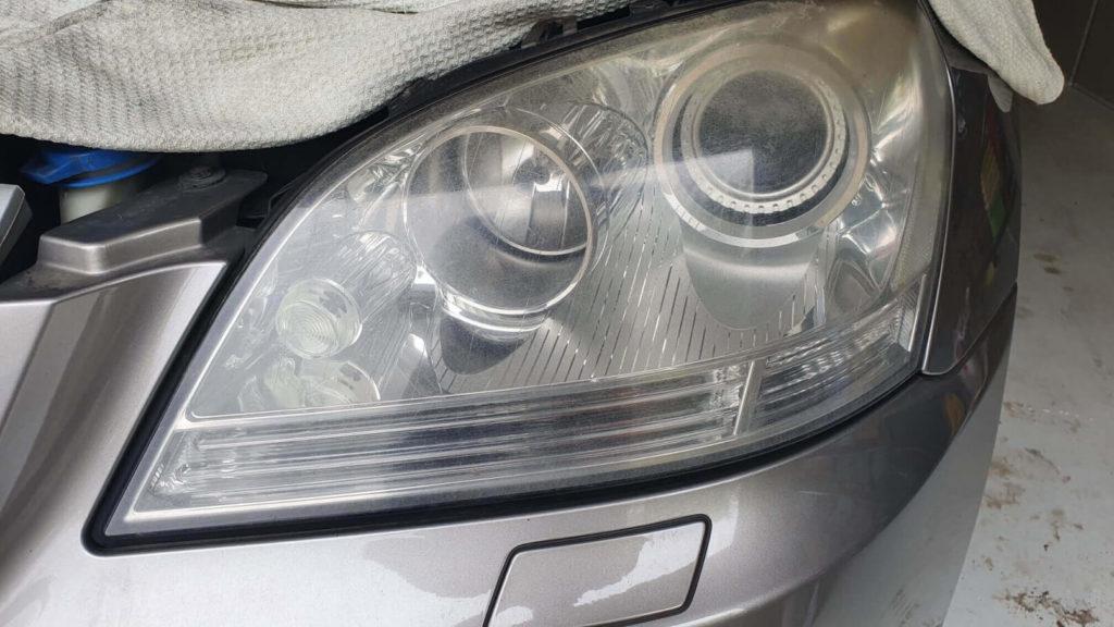 Xenon fényszóró felújítás